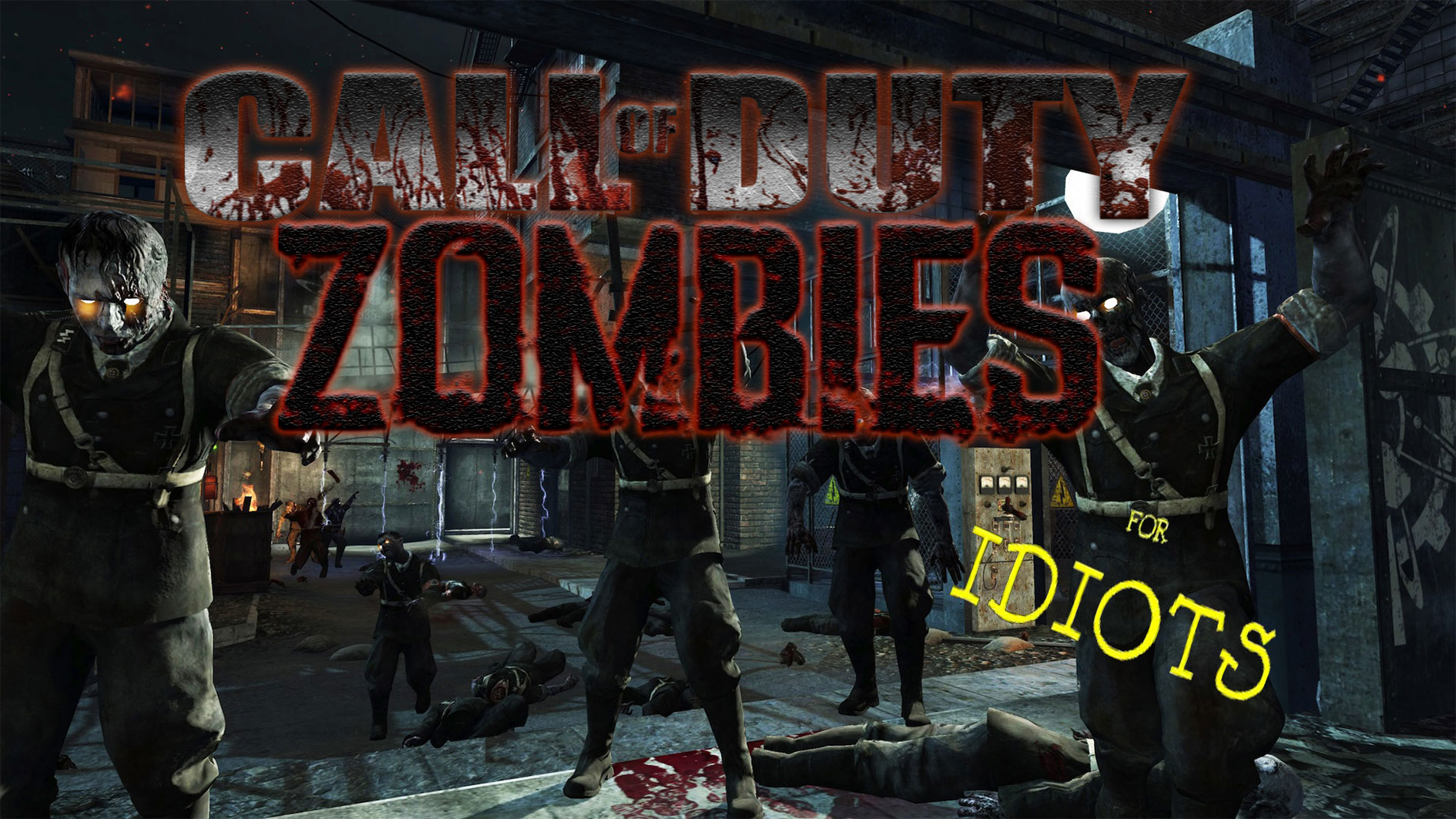 Call of Duty Zombies For Idiots: Call of The Dead (3/17 ... Call Of The Dead Map on call of duty map, black ops map, world at war map, no man's land map, mob of the dead map, call of duty dead ops,